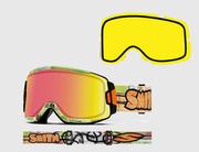 Очки горнолыжные (маска) Smith Squad + линза Yellow